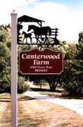 Canterwood Farm sign